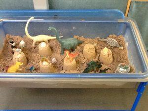 Week 2- Dinosaurs' visit to the beach!