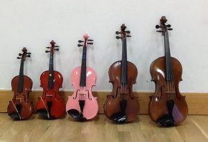 Week 2 - Violins