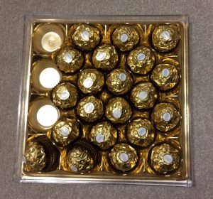 Week 5 - Christmas chocs