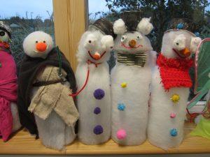 Week 5- Snowmen