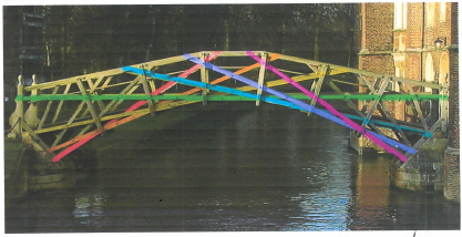Week 8 - Tamarine's Mathematical Bridge