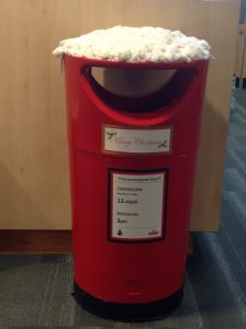 Week 9 - Christmas Postbox