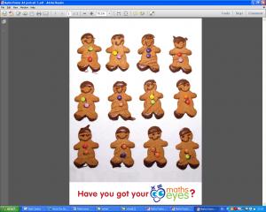 Week 1- Gingerbread men