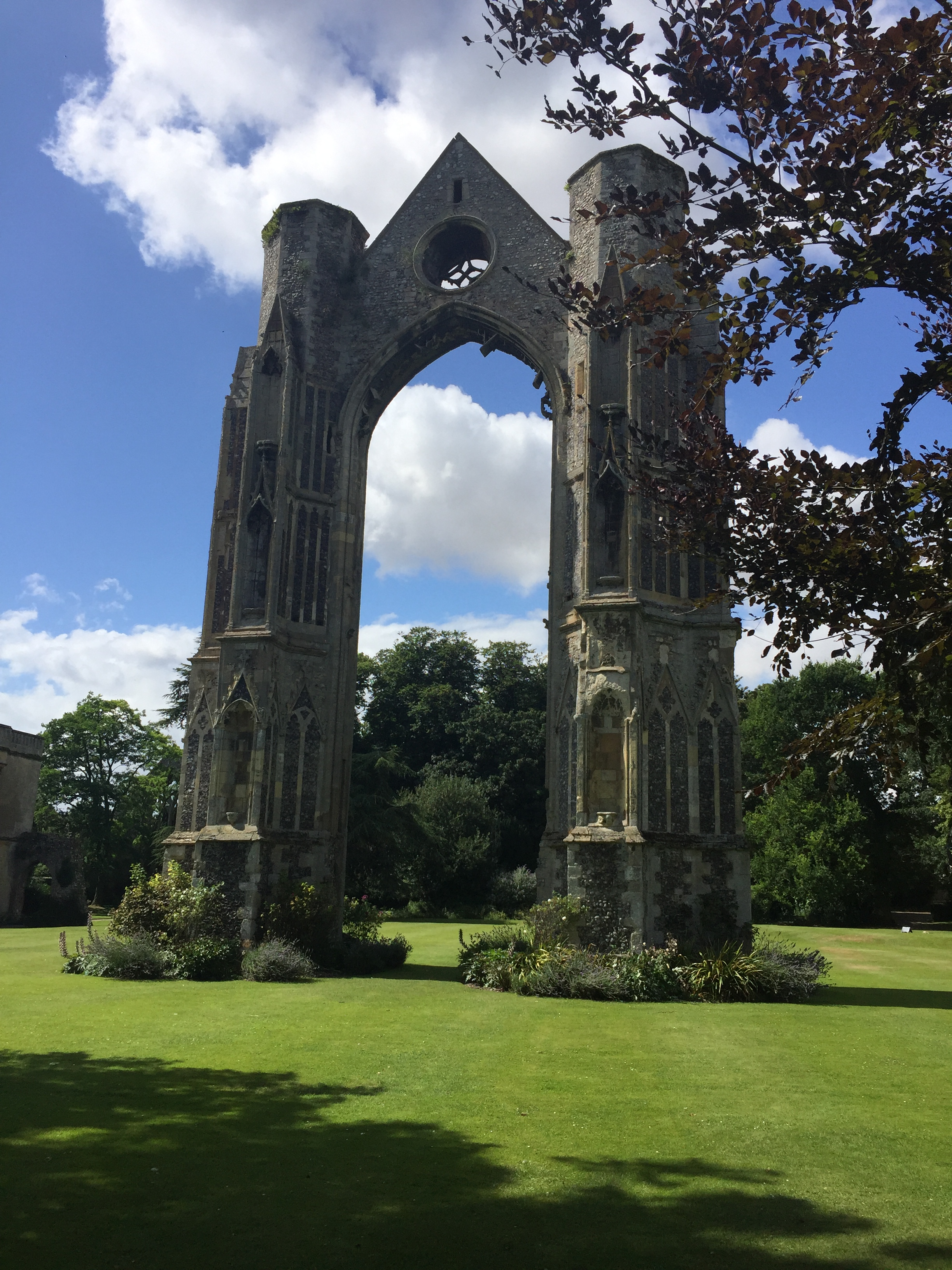 Week 12- Walsingham Abbey remains.