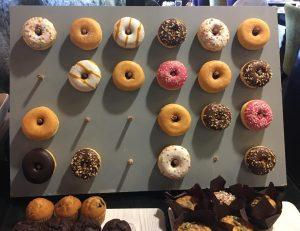 Week 3 - Breakfast doughnuts and other tasty treats!