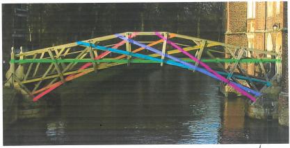 Week 8 - Tamarine's Mathematical Bridge